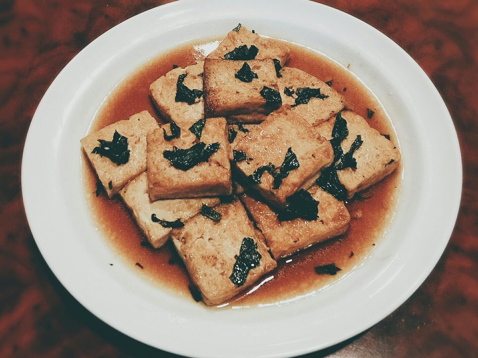 紫蘇燒豆腐