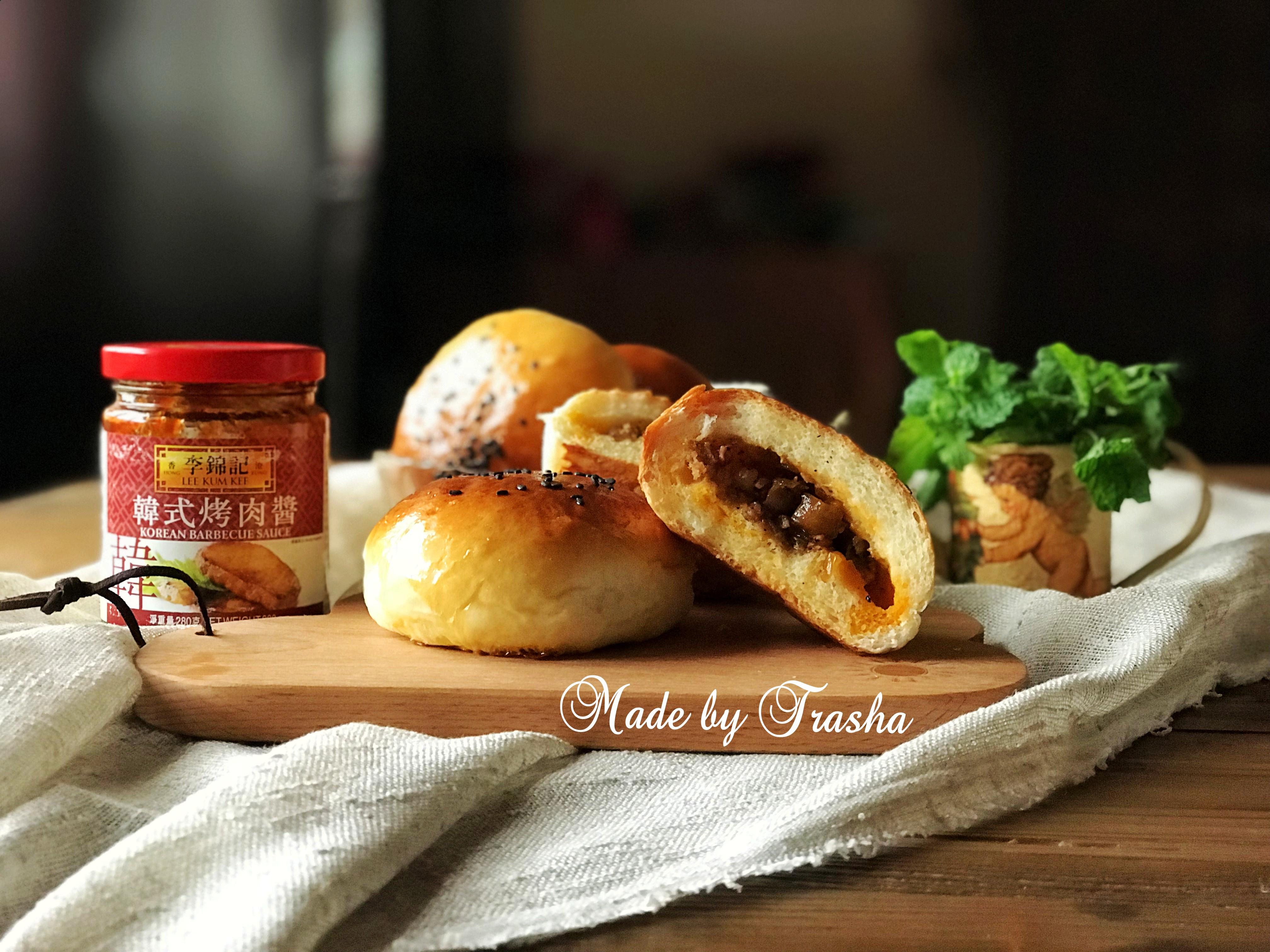 韓式肉醬麵包