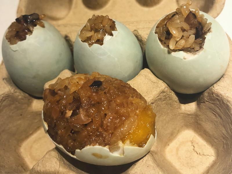 糯米鹹鴨蛋