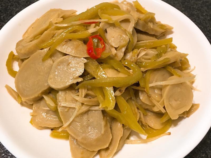 酸菜炒麵腸~全素