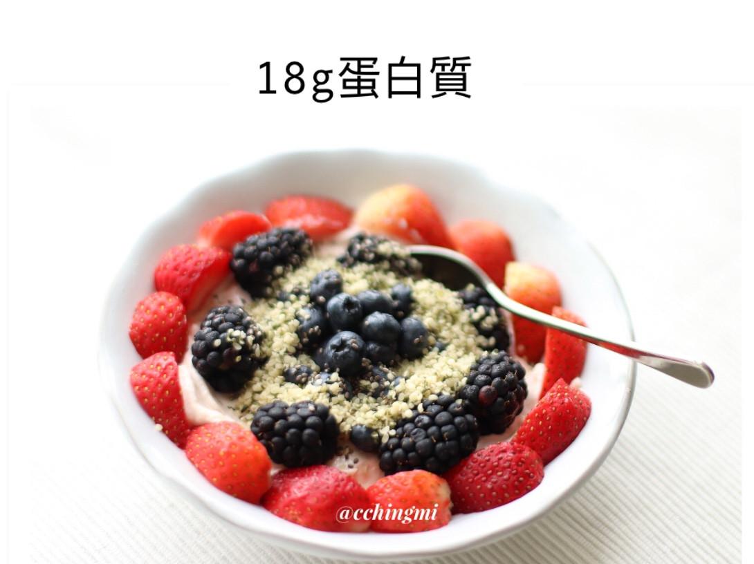 🍓【5 分鐘】蛋白質 健康早餐-素菜
