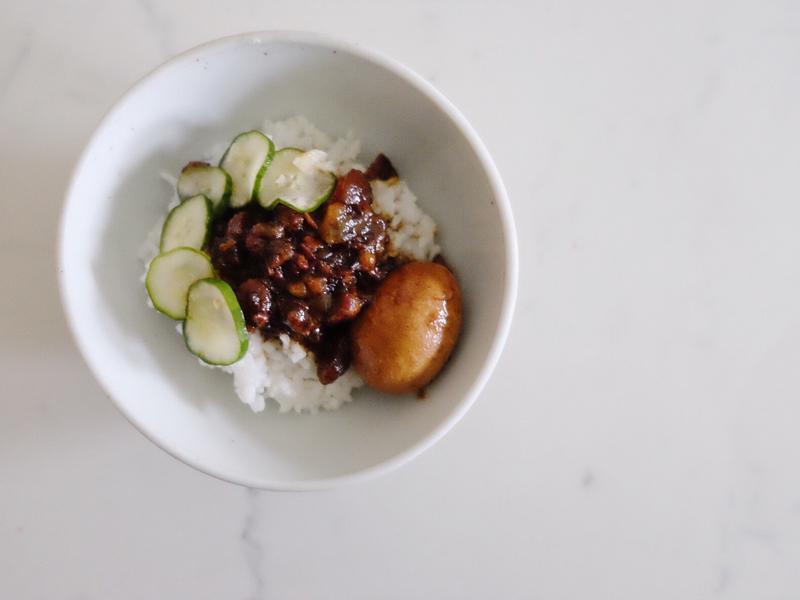 台灣味研究#1 - 魯肉飯