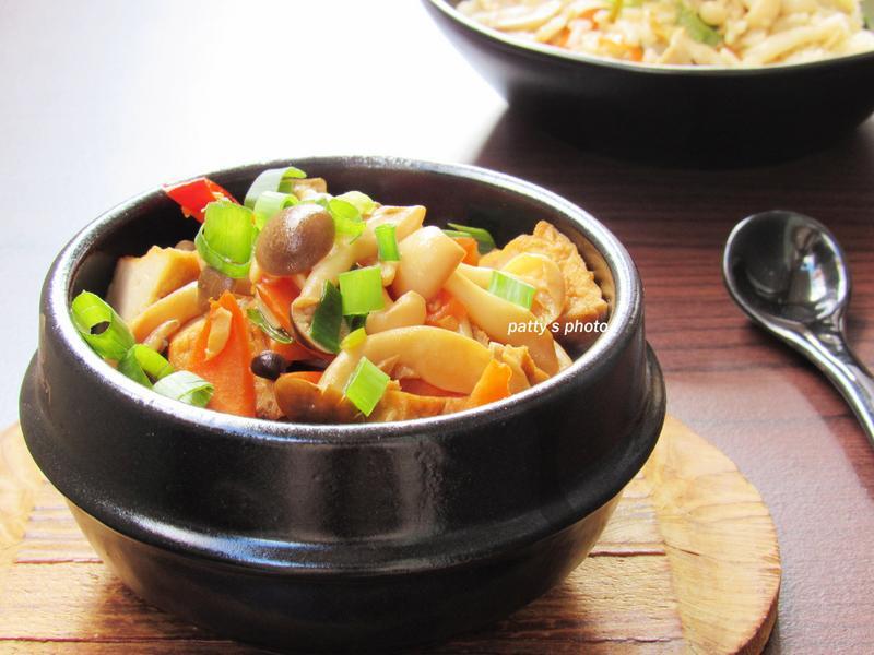 雙菇油豆腐燒【好菇道親子食光】