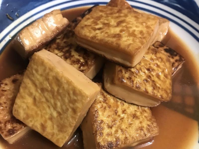 超簡易鐵板豆腐