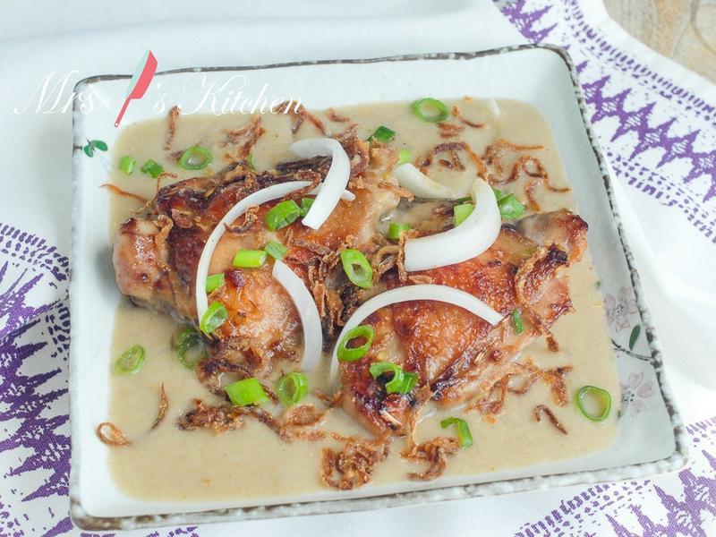 白咖哩香茅雞排飯