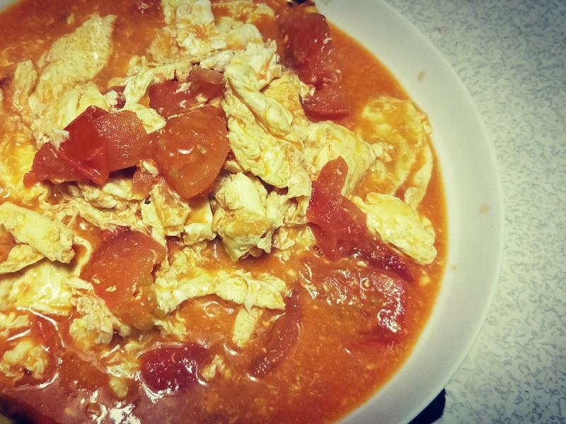 簡單煮番茄炒蛋