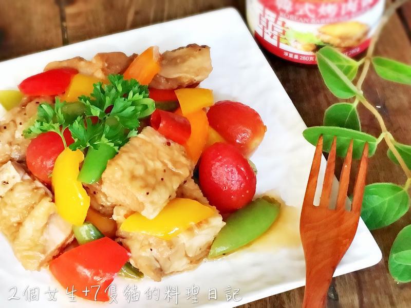 酸酸甜甜野菜雞肉漬物