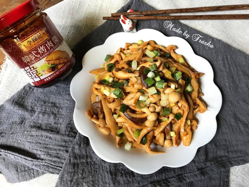 醬炒奶油蕈菇