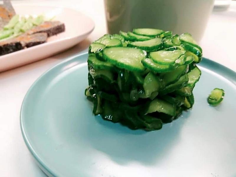 醃小黃瓜 ~ 甜醋口感
