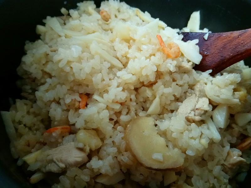 竹筍雞肉片燉肉