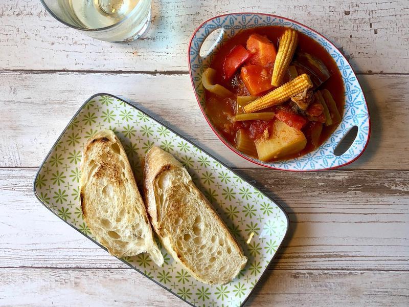 番茄蔬菜燉