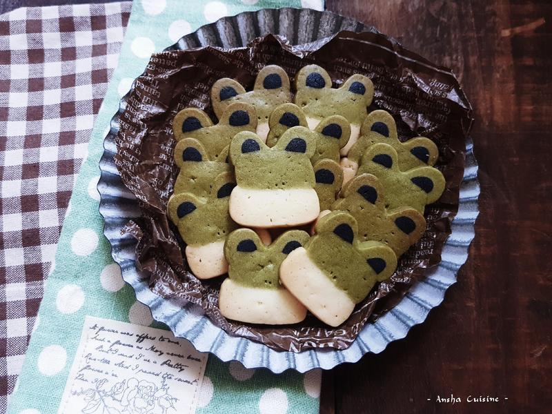 免壓模【青蛙造型餅乾】