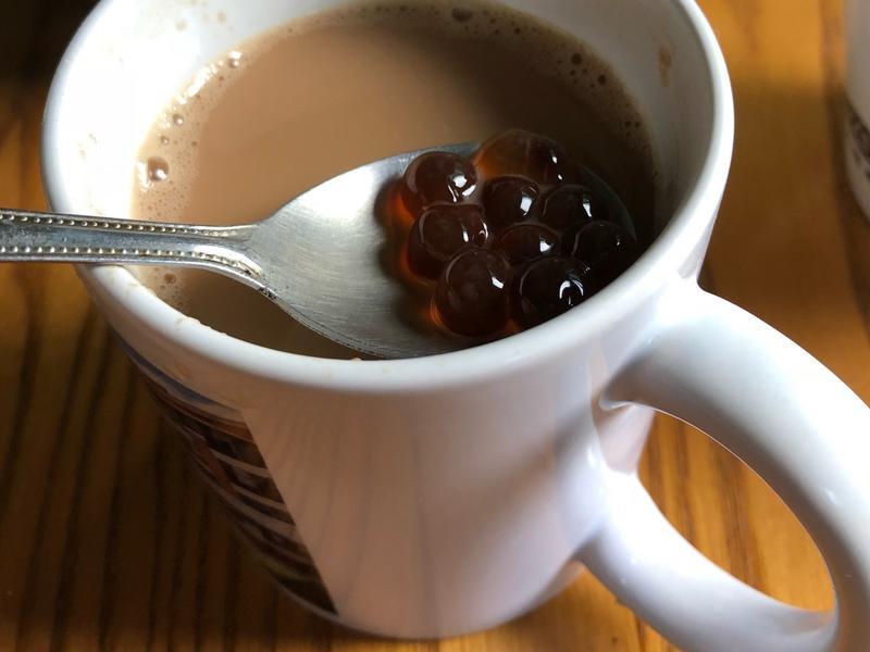 好喝珍珠奶茶(簡單版)