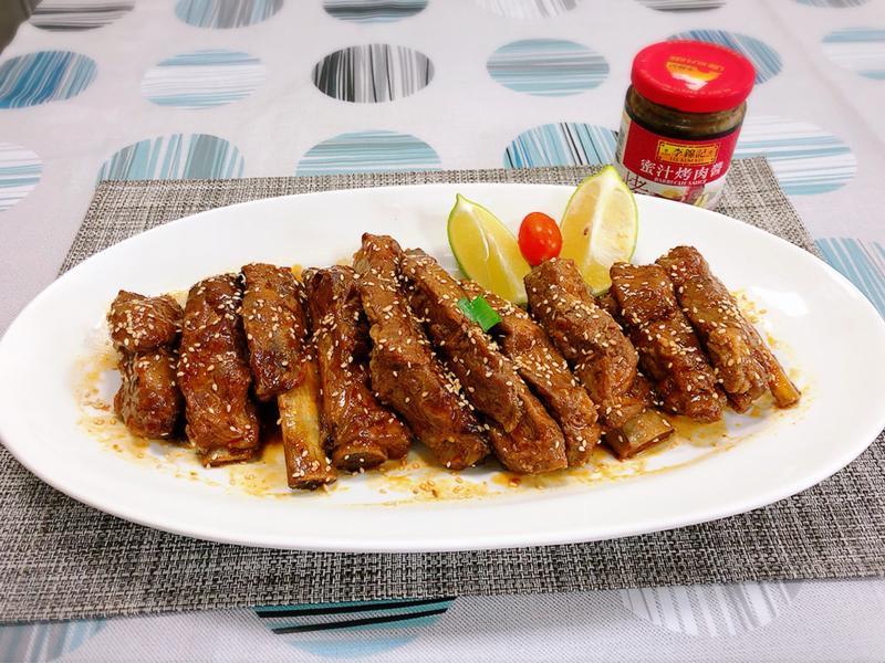 高升排骨-李錦記蜜汁烤肉醬