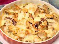 焗烤牛奶菇菇 │ 輕鬆上桌