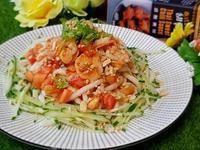 泰式鮮蝦涼麵