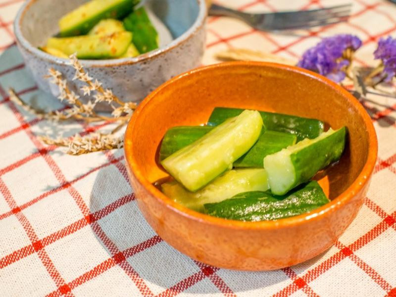 麻油小黃瓜泡菜