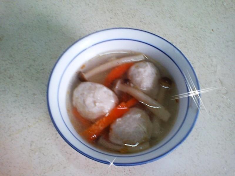 [解凍]創意鮮魚丸湯