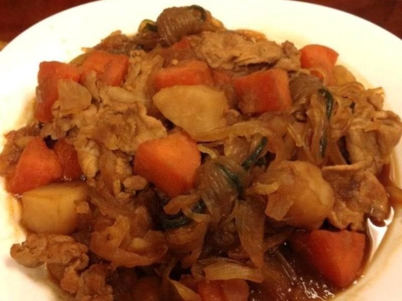 【趁熱品嚐】馬鈴薯燉肉