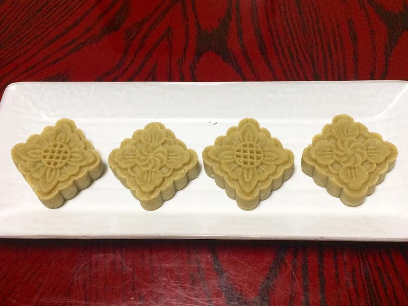 【中秋節】奶香綠豆糕