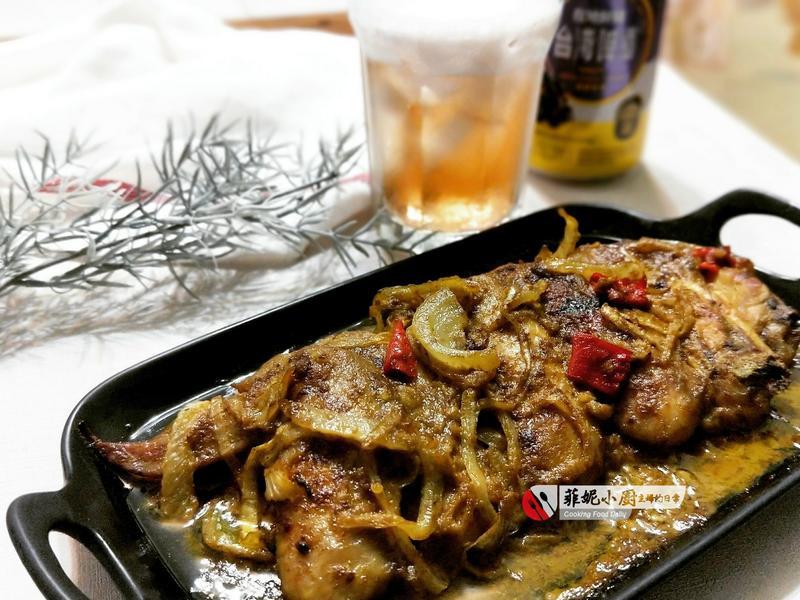 咖喱椰汁烤翅