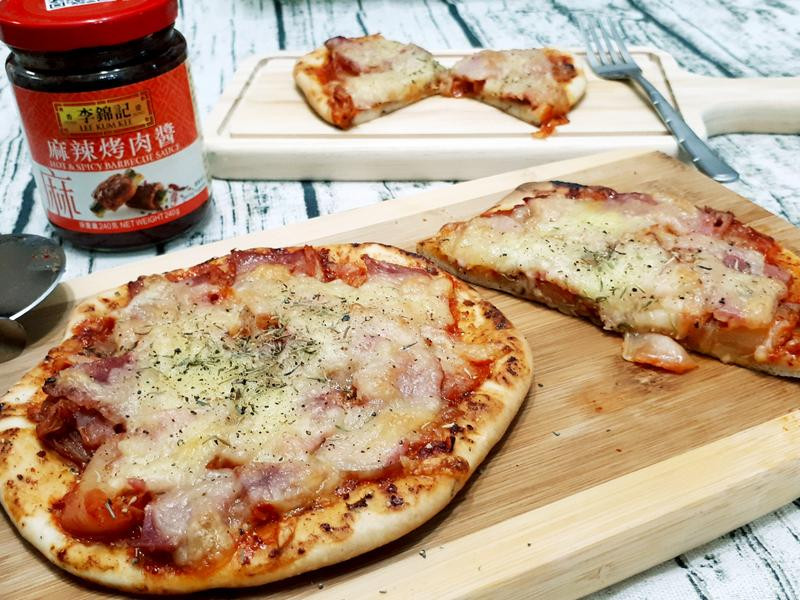 泡菜培根Pizza
