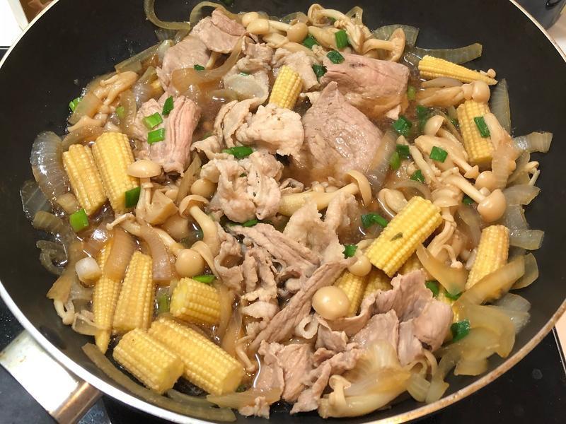 壽喜燒豬肉