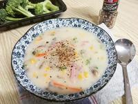 奶油菇菇玉米濃湯🍄🌽滑順濃郁