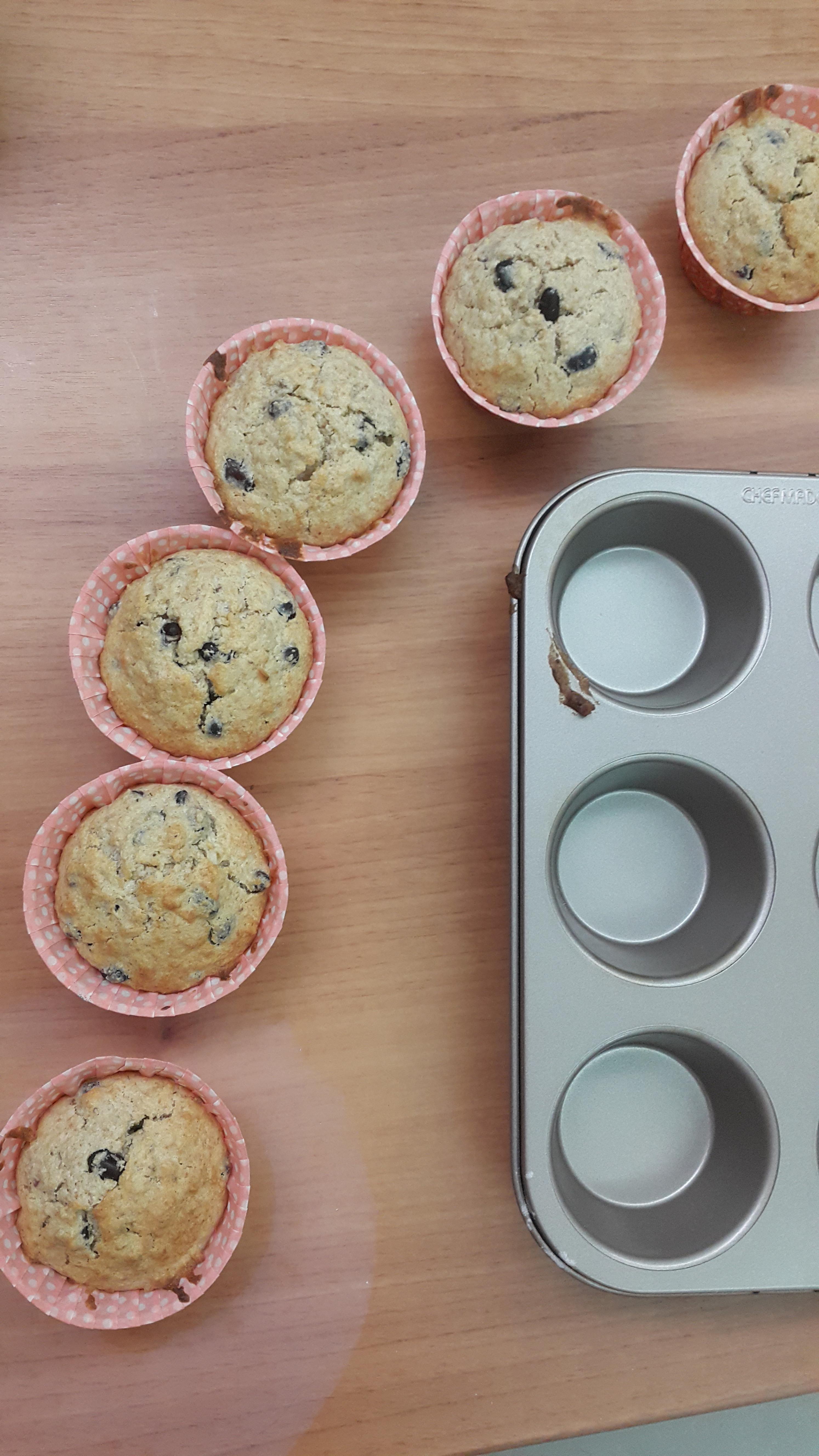 紅豆椰子馬芬蛋糕Muffins