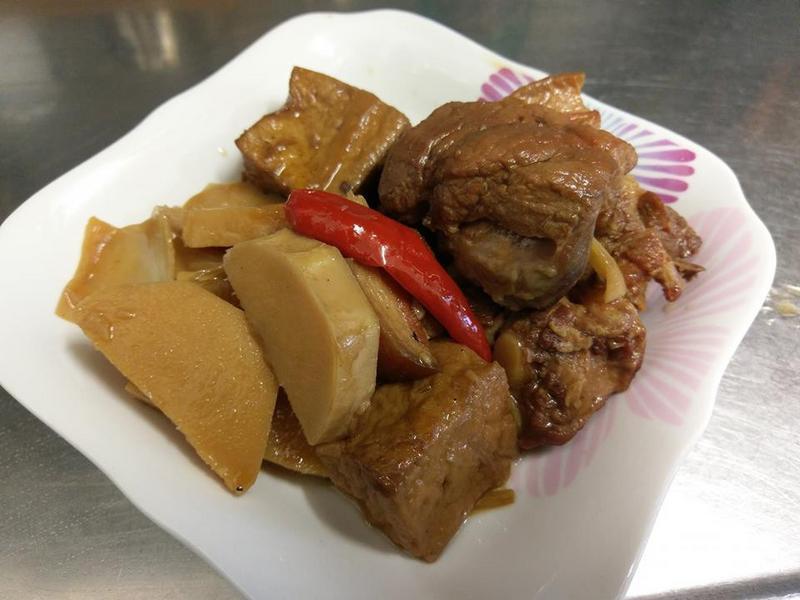 竹筍香滷肉