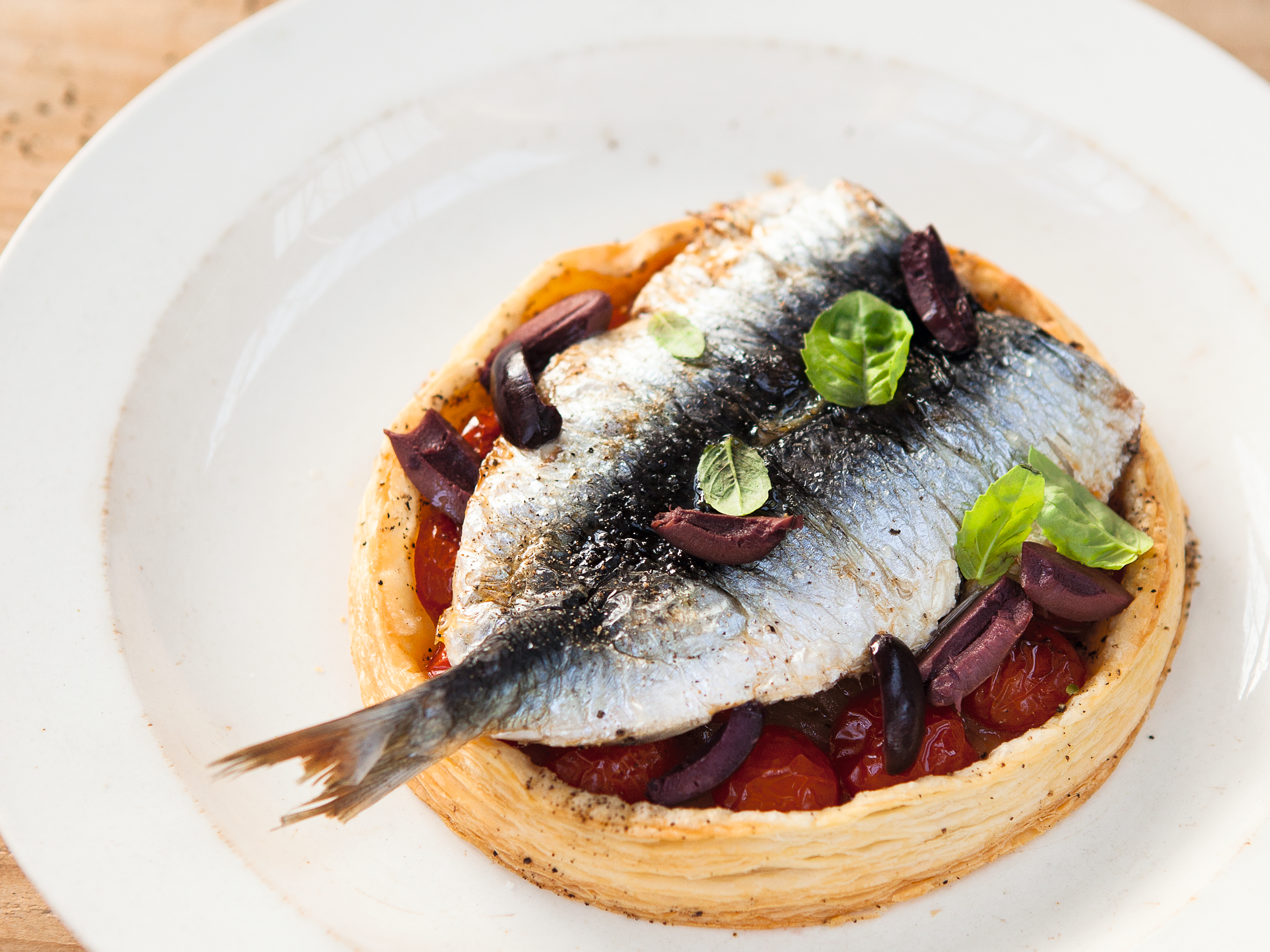 【野餐料理】沙丁魚番茄塔