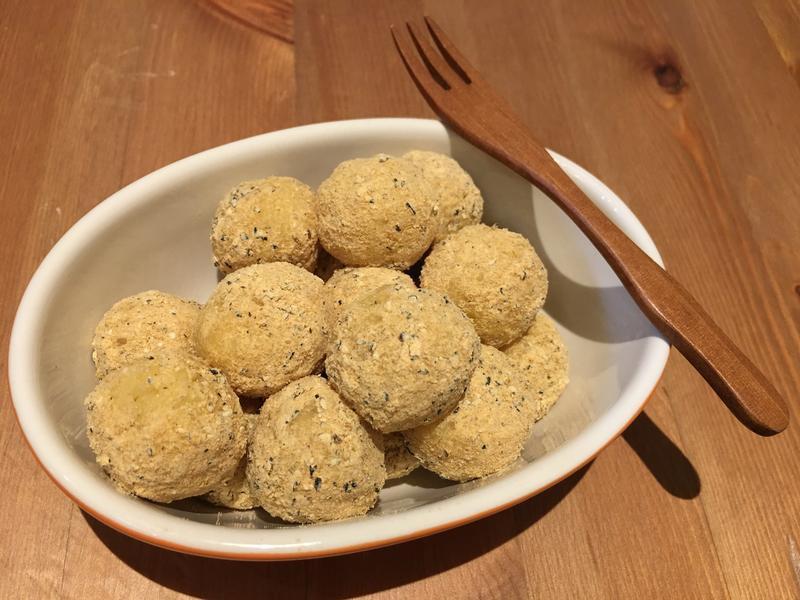 【寶寶食譜】地瓜麻糬(無糖無粉純白米製)