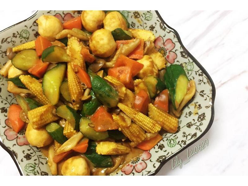 【簡單食譜】蔬菜咖哩