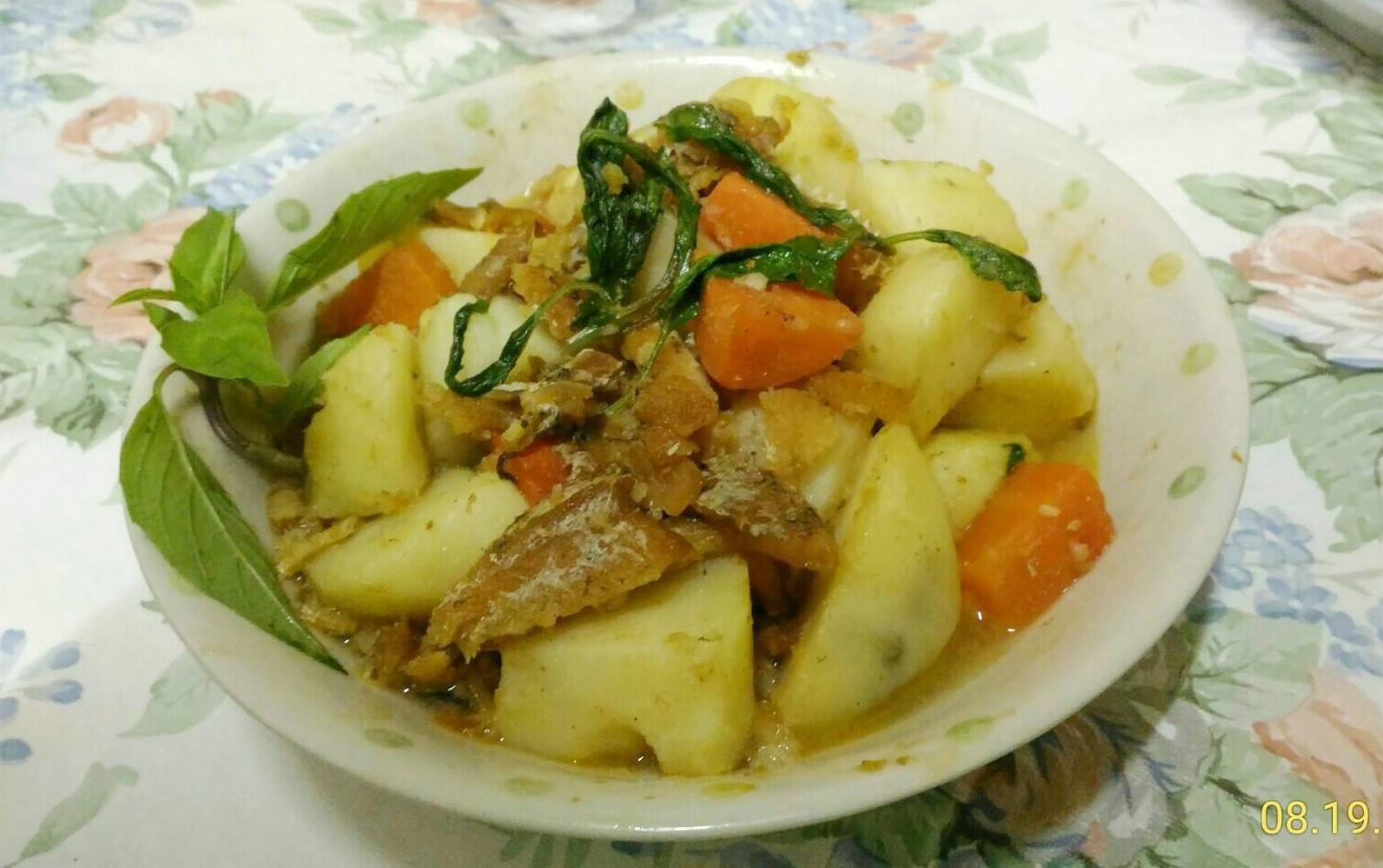 鰻魚燉洋芋
