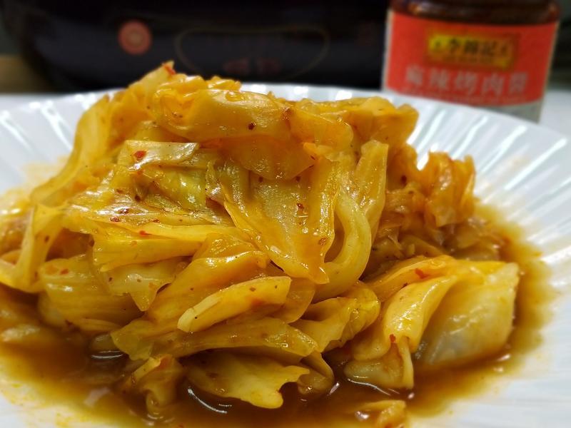 麻辣水炒高麗菜【 李錦記麻辣烤肉醬】