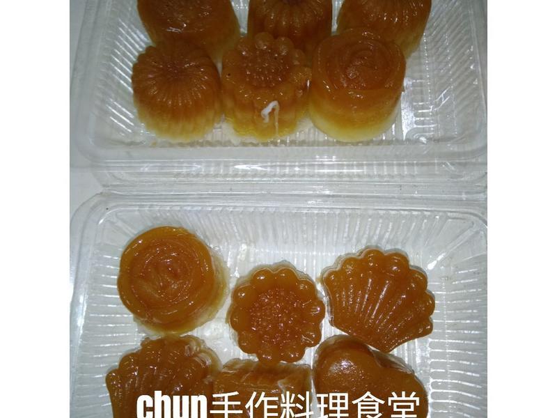 椰糖杏奶果凍月餅