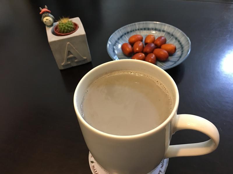 芝麻杏仁豆漿
