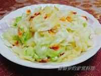 家常菜~高麗菜炒櫻花蝦