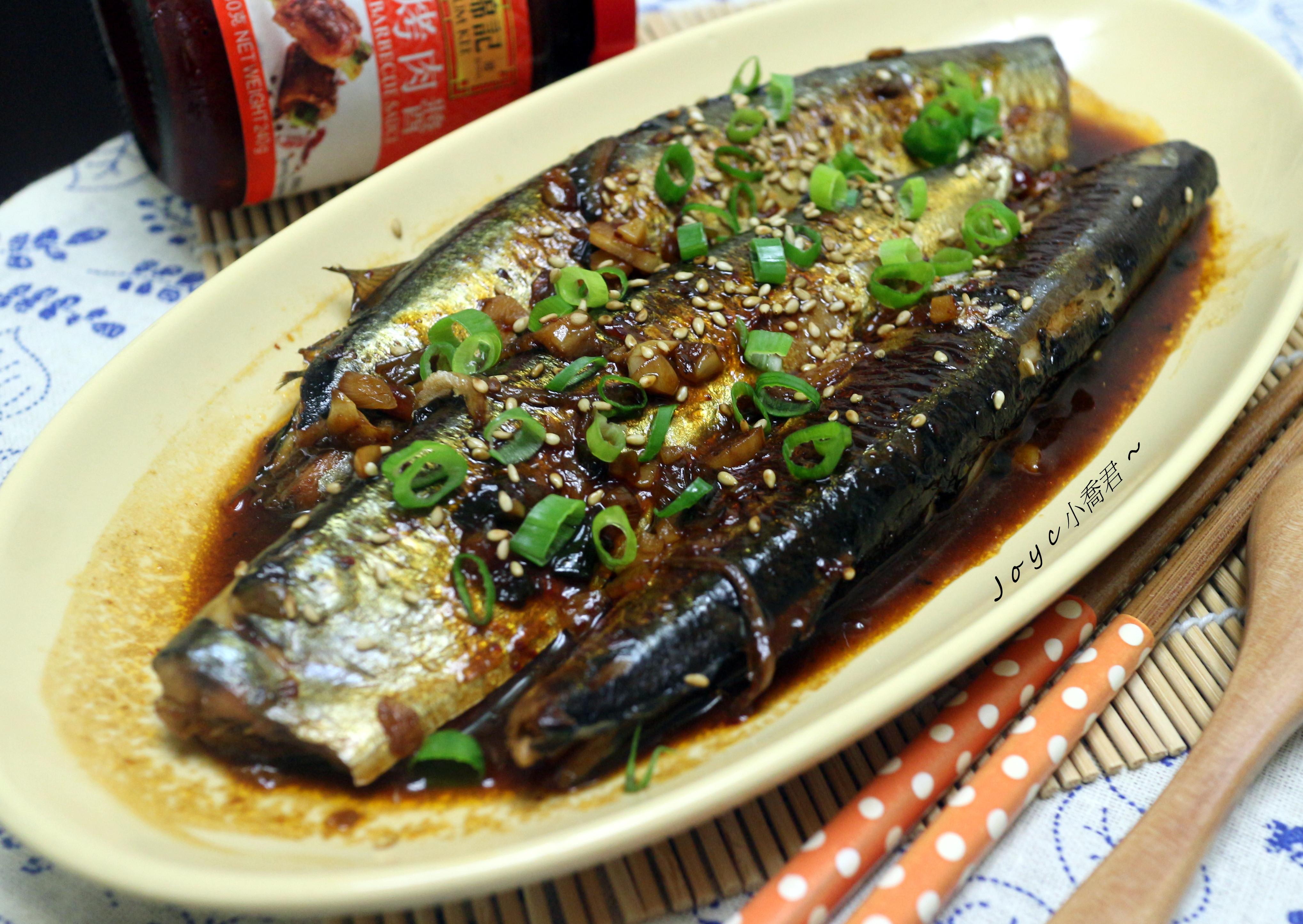 醬燒辣味秋刀魚