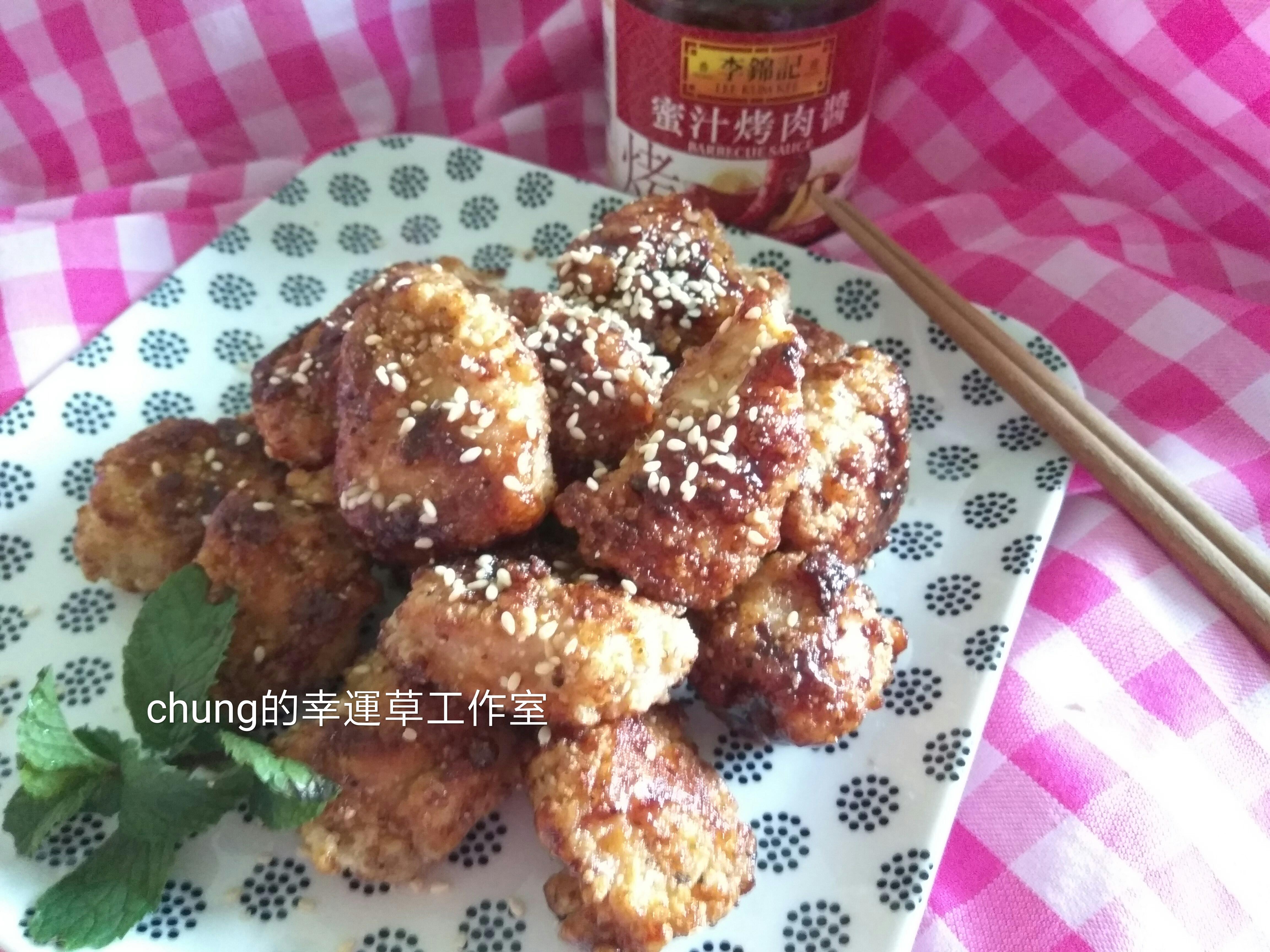 蜜汁炸雞米花