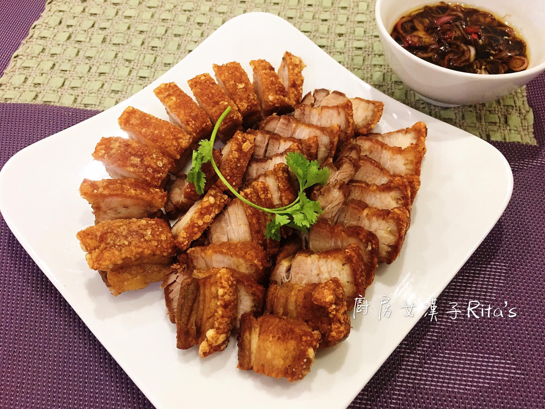 脆皮燒肉(免烤箱)