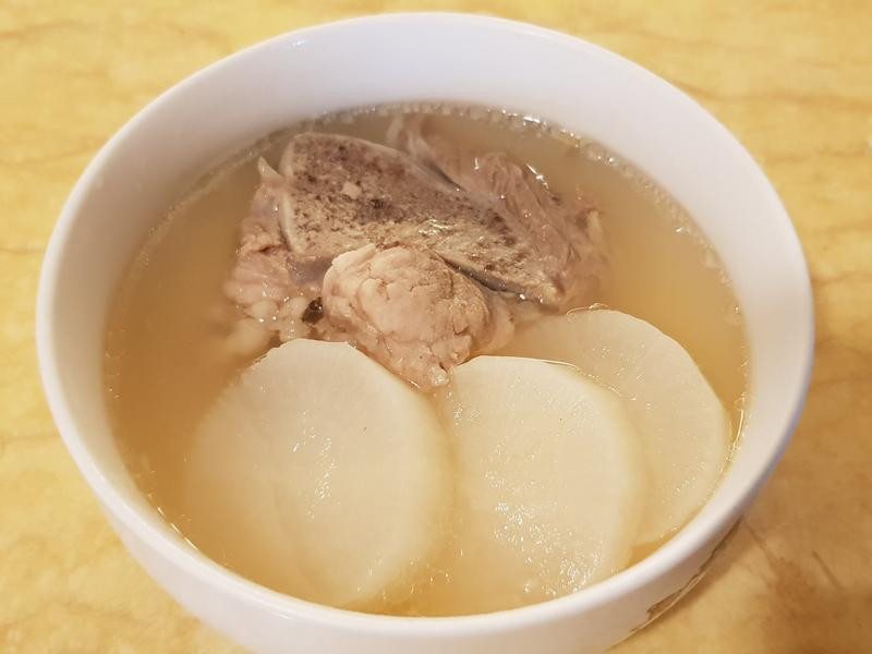 老菜脯排骨湯