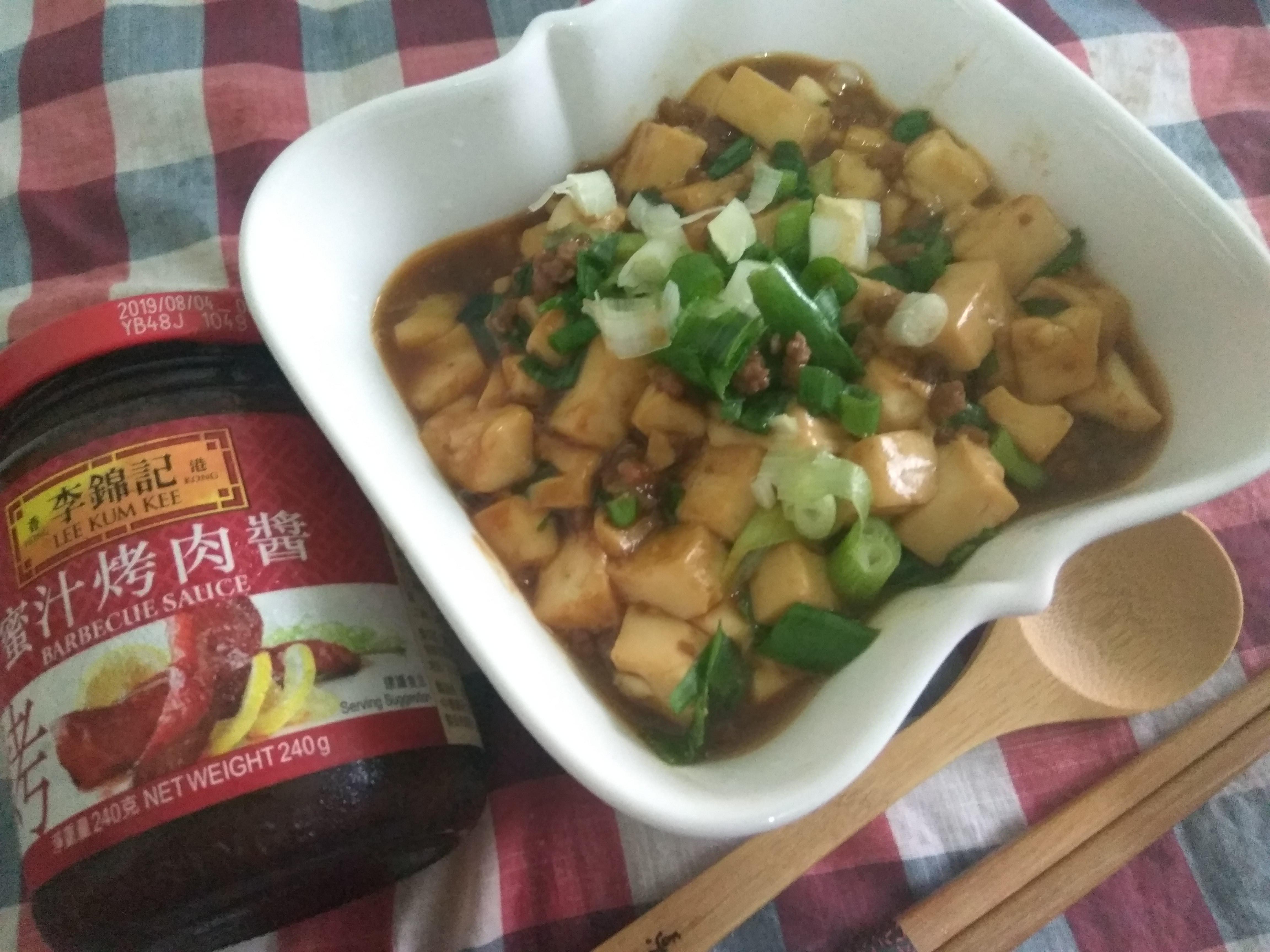 蜜汁豆腐燒