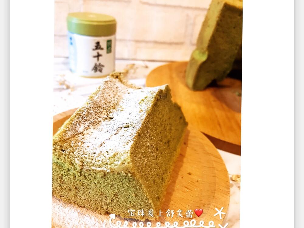 宇治小山園抹茶戚風蛋糕