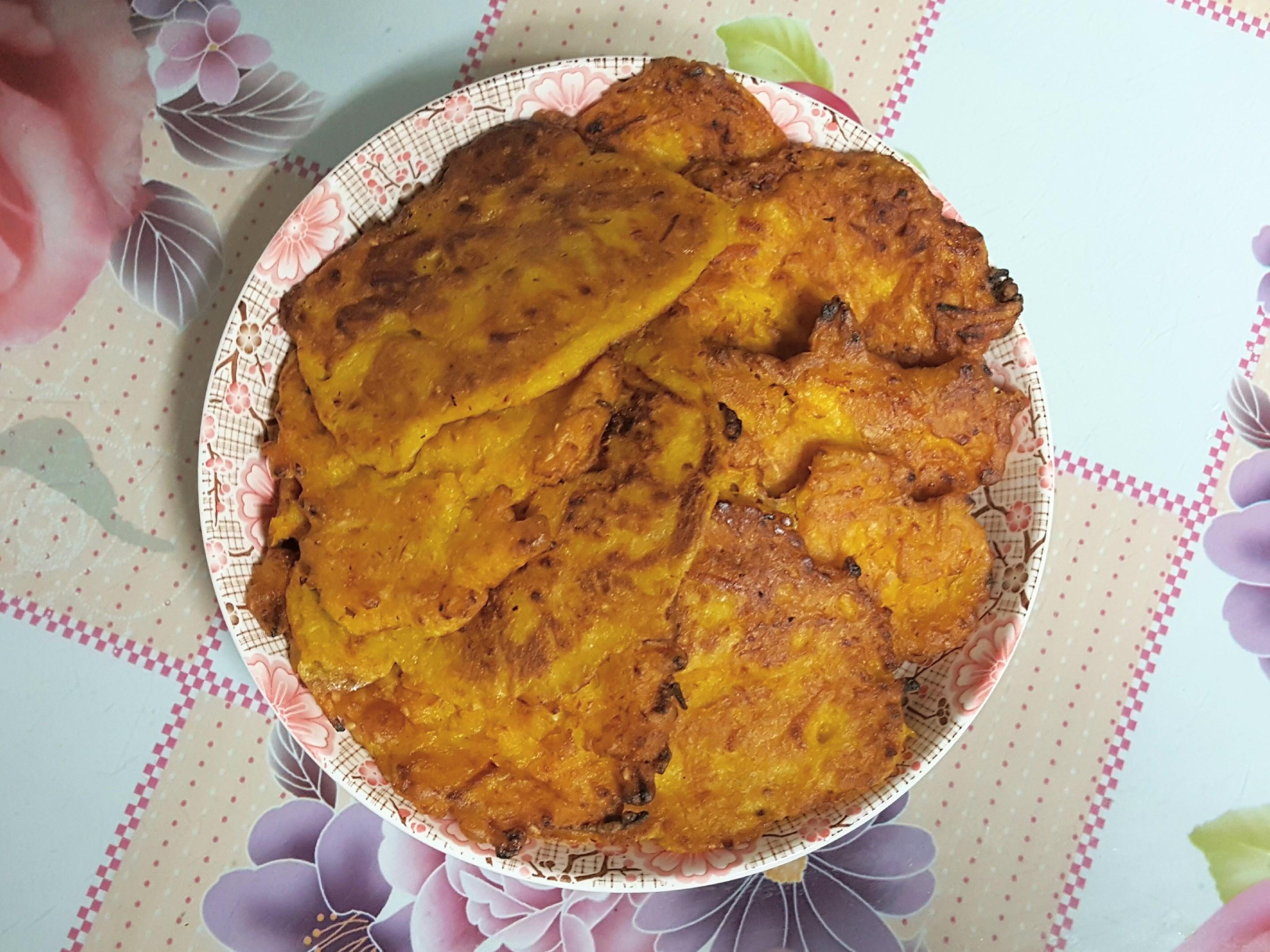 南瓜芝麻煎餅