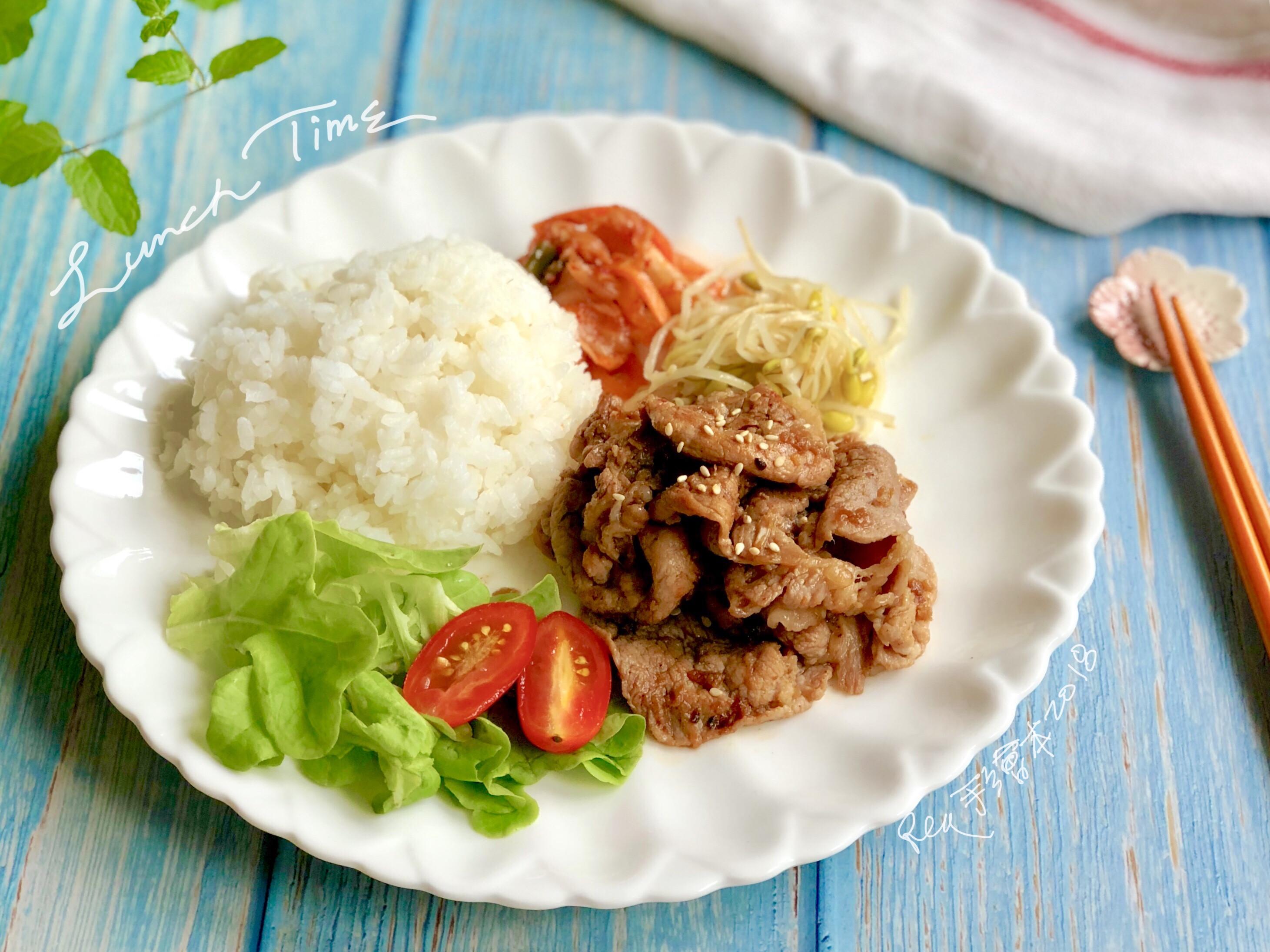 韓式燒肉-手繪食譜