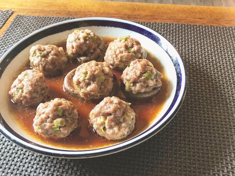 林熊寶教煮菜-香菇蒸肉丸