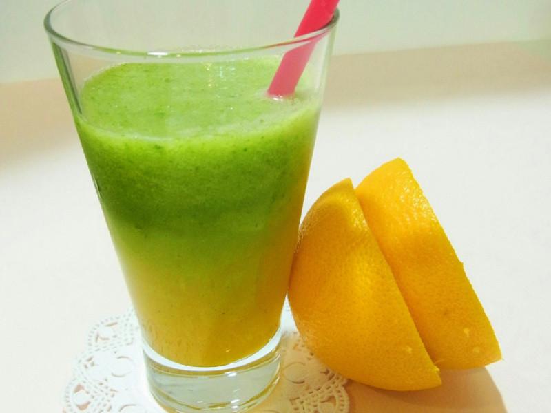 最佳美白飲品--蜂蜜雙色果菜汁