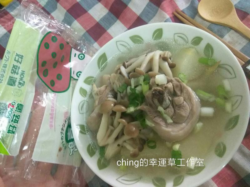 水梨菇菇雞湯【好菇道親子食光】