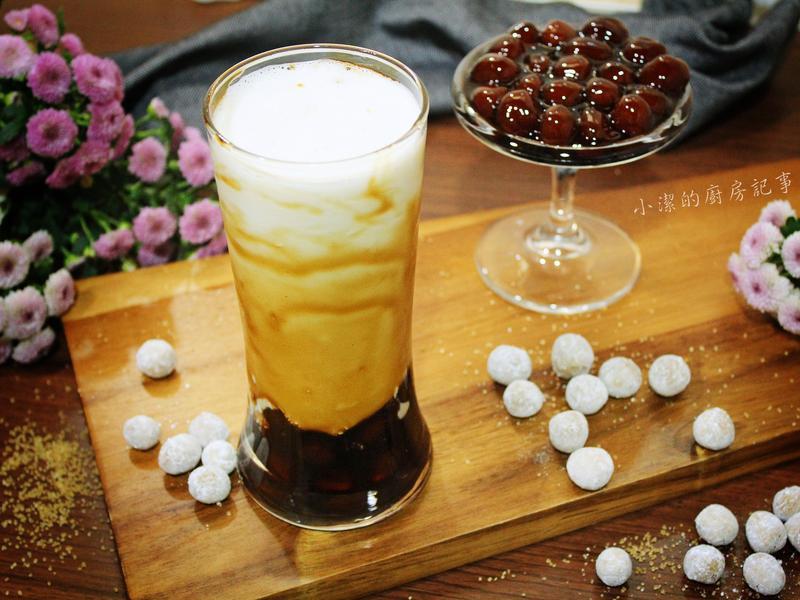 黑糖珍珠鮮奶【電子鍋料理】